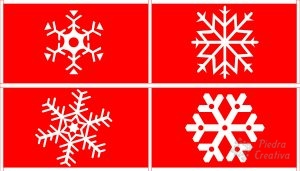 Snowflakes patterns for the DIY