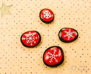 Piedras Copos de nieve