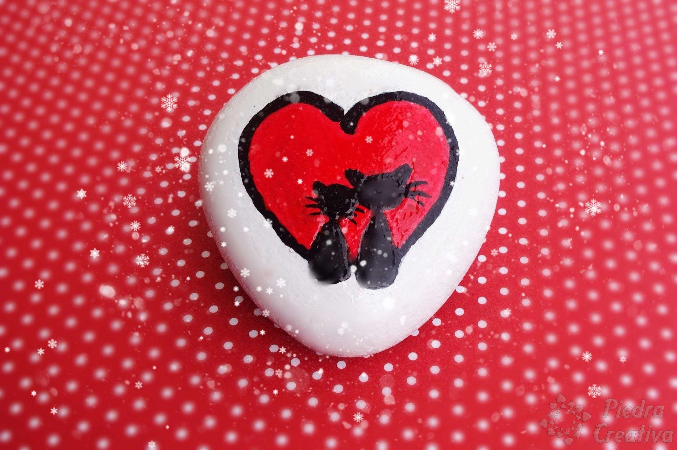 painting a heart of stone u2022 diy in piedracreativa
