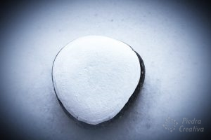 White stone for DIY heart