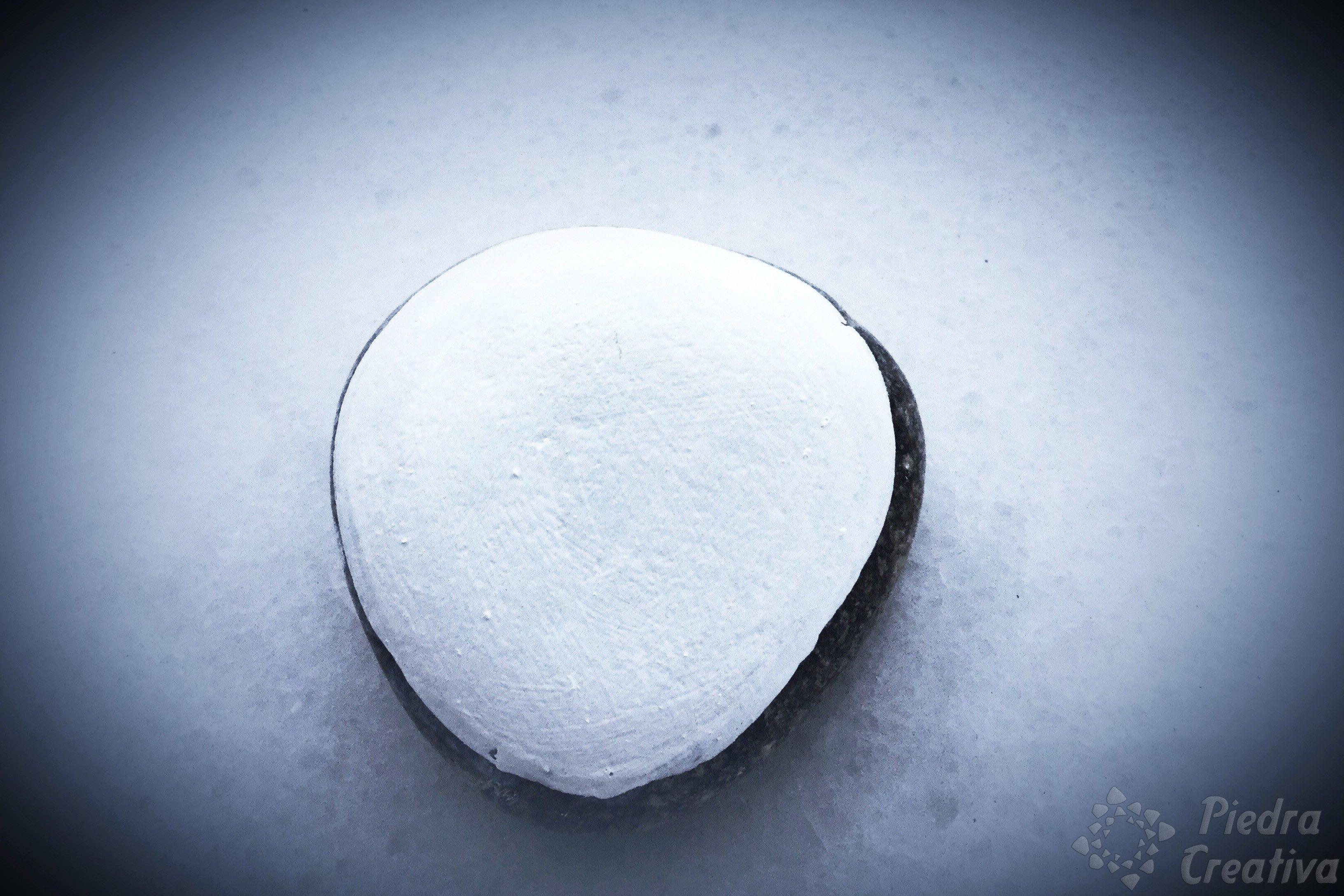 Pintar un corazón en piedra • PiedraCreativa
