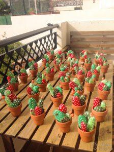 Como teñir piedras para cactus