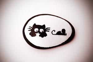 diy gato raton 300x200 - ¡Me pareció ver un lindo gatito!
