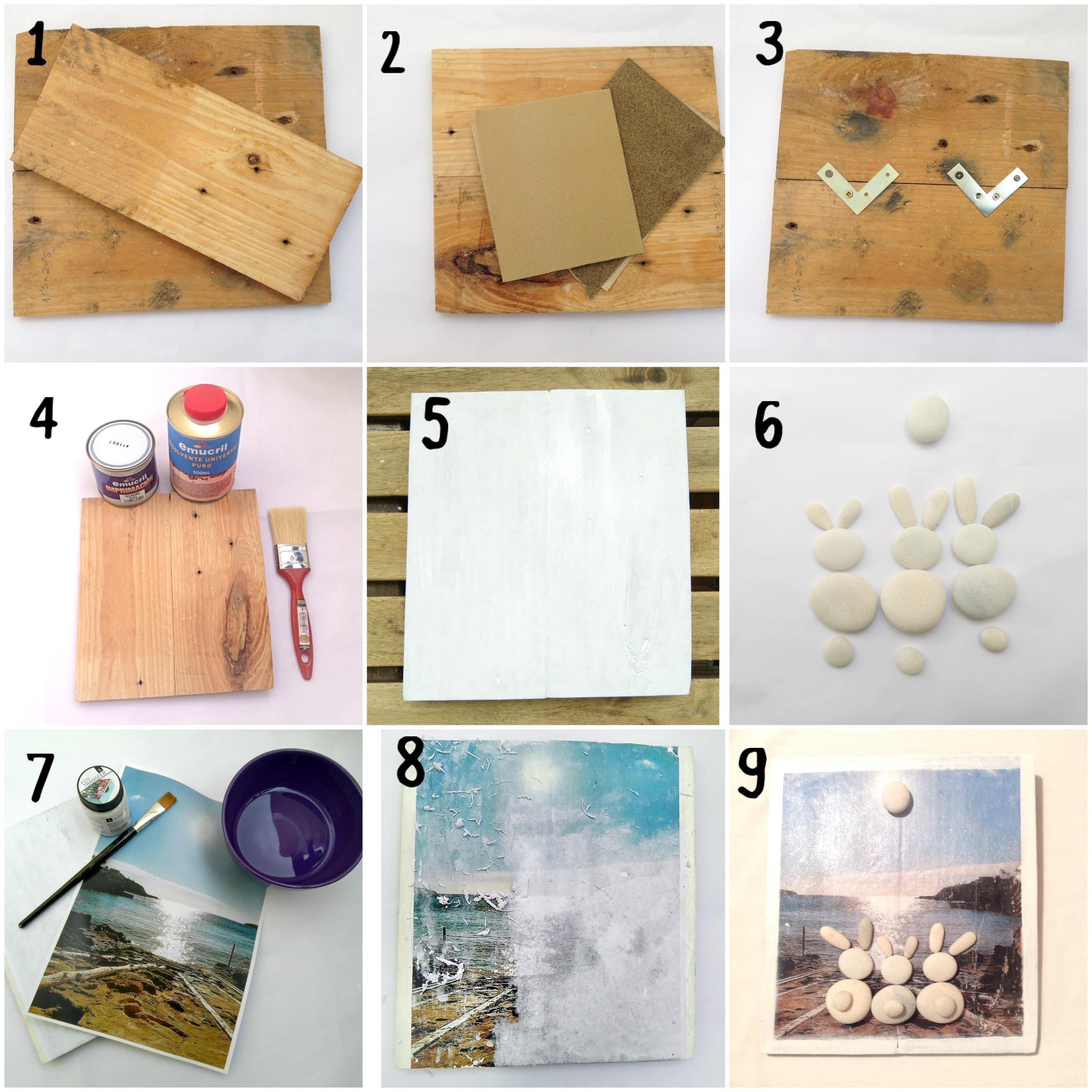 Como transferir imagenes a madera diy y manualidades en - Madera para manualidades ...