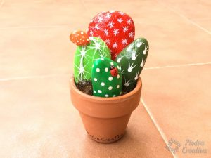 DIY - Result of painted cactus