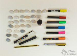 Materiales para dominó de piedras