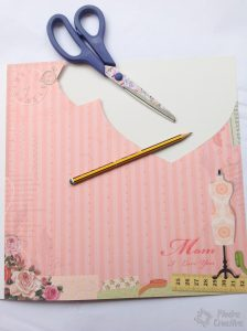 DIY - Cut and paste decorated paper