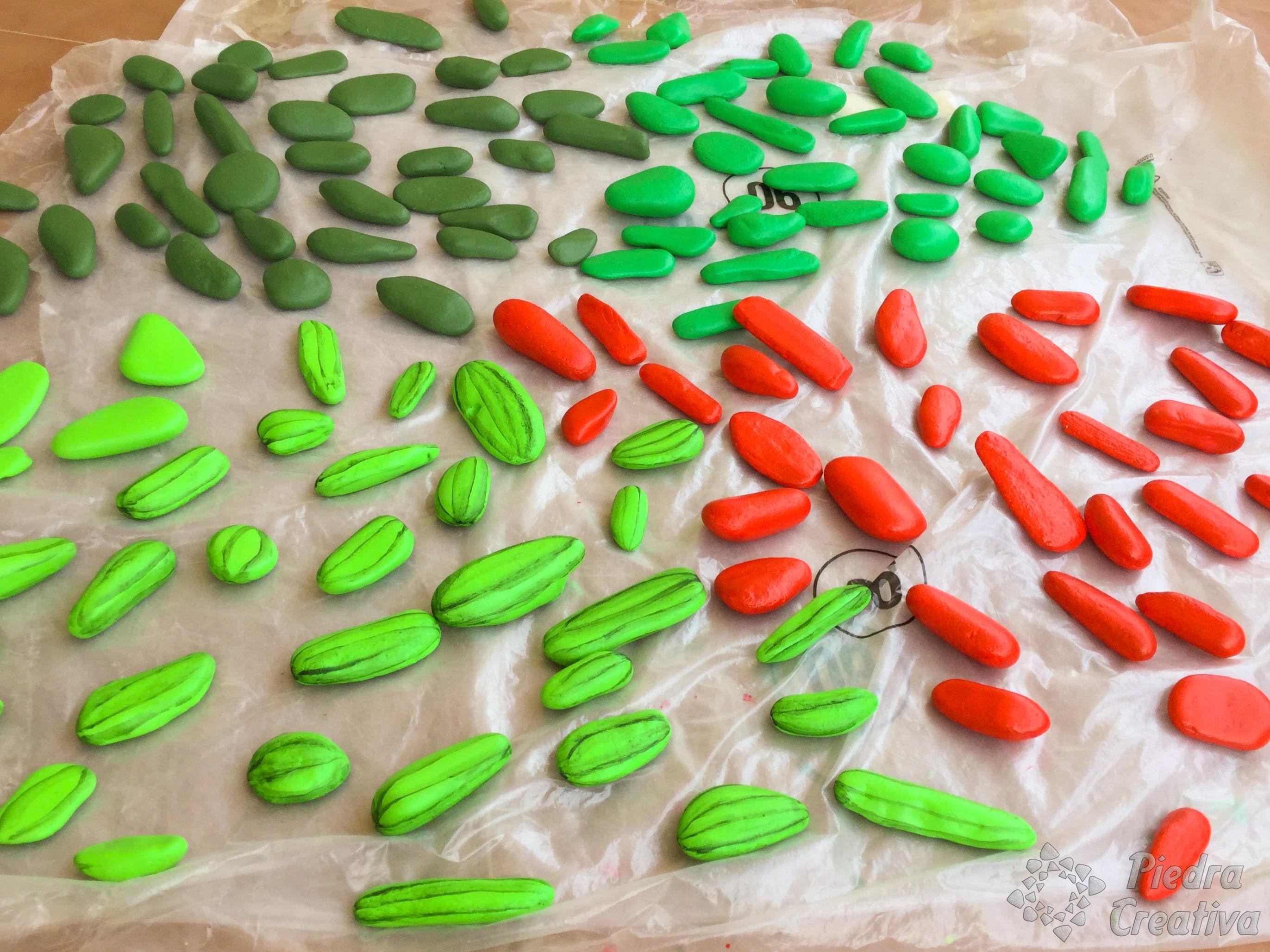 Cómo hacer cactus con piedras • DIY y manualidades en PiedraCreativa