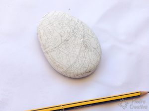 DIY stone drawn for painting