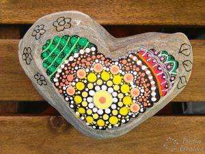 DIY heart mandala