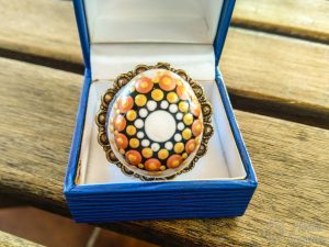 Joya de anillo de PiedraCreativa