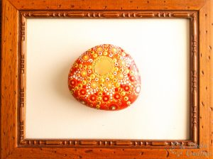 cuadro de manualidad mandala de verano 300x224 - Mandala de verano