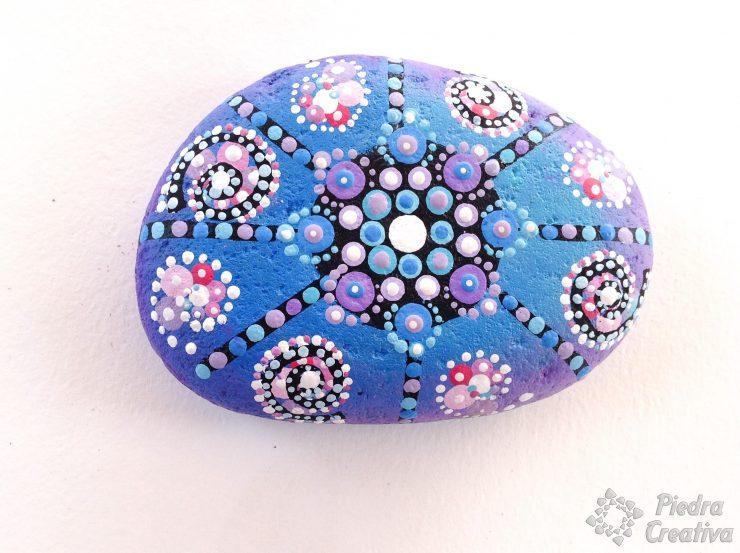 DIY Mandala galaxia PiedraCreativa