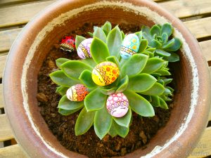 diy mariquitas en piedras de piedracreativa 300x225 - Ladybugs painted on rocks with fantasy