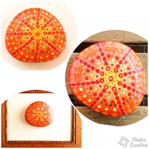 Mandalas en piedras pintadas de verano PiedraCreativa