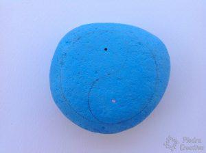 yin yang pintado en piedra 300x224 - Yin Yang en piedra pintada
