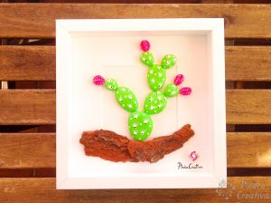 How to make a cactus picture for wall