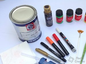 Acrylic varnish for painted stones PiedraCreativa