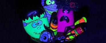 DIY Monstruos de Halloween en piedras pintadas. PiedraCreativa