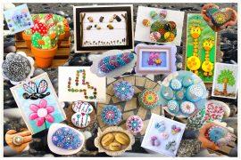 Publish your art with stones in PiedraCreativa