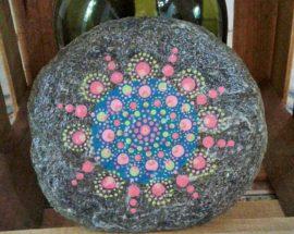 Mandala de Turmalina en PiedraCreativa