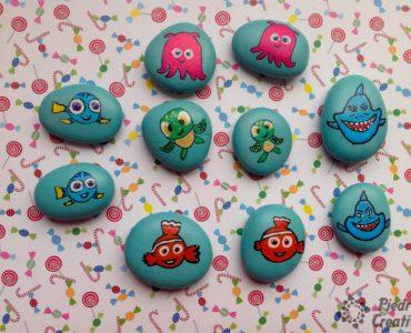 Juego de memoria en piedras pintadas PiedraCreativa